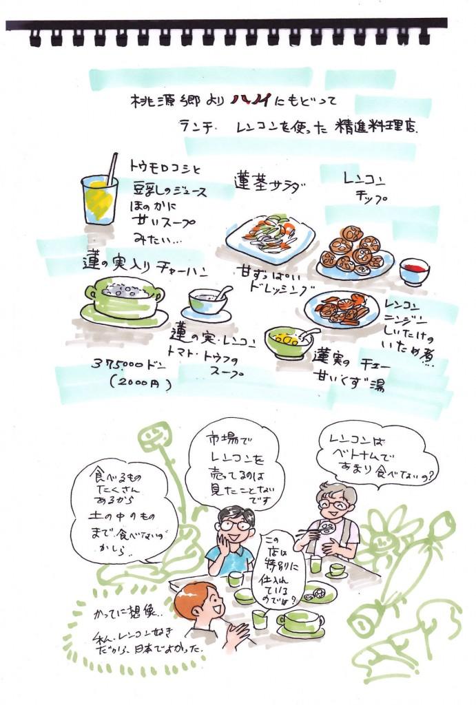 ハノイマンガ旅日記17-1