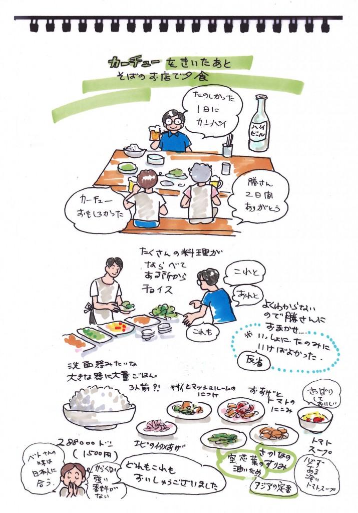 ハノイマンガ旅日記19-1