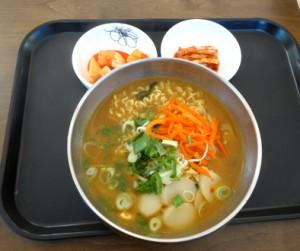 釜山駅朝食2